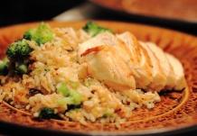 Sage Chicken with Rice